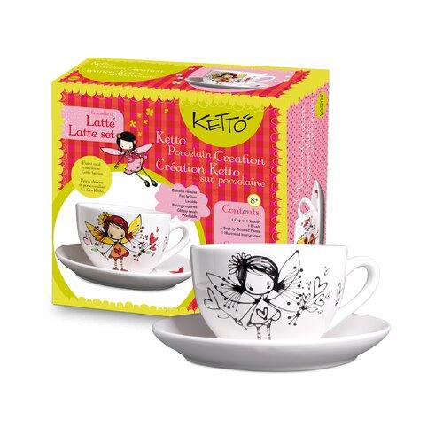 Ketto; Ketto Design Paint-It-Yourself Fairy Latte Set