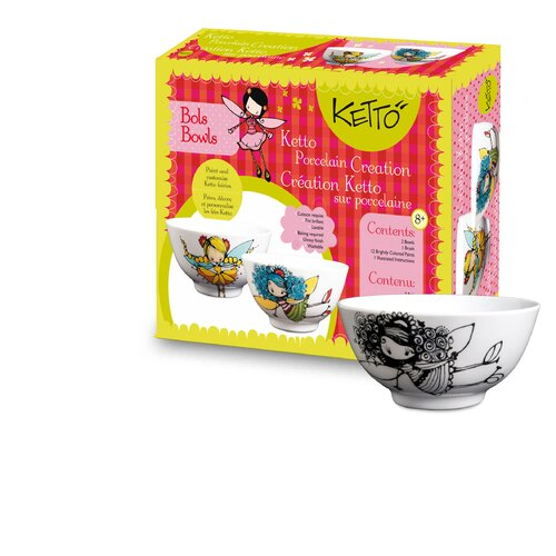 Ketto; Ketto Design Paint-It-Yourself Fairy Bowl