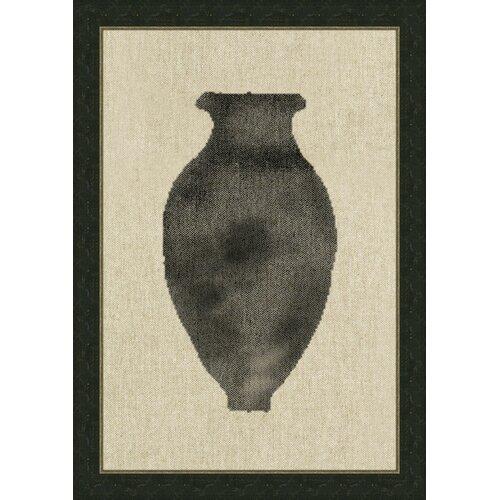 Vase Vl Framed Graphic Art