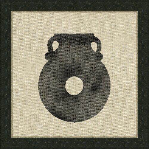 Vase Vll Framed Graphic Art