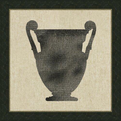 Vase Vlll Framed Graphic Art