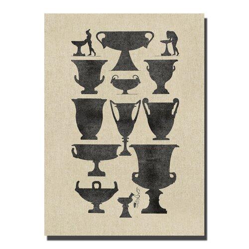 Vases I Graphic Art on Canvas