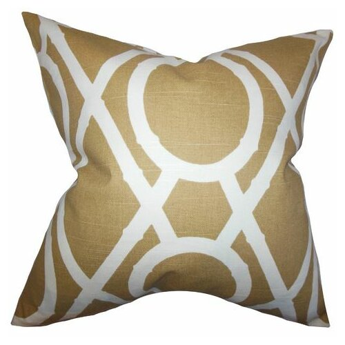 Whit Geometric Pillow