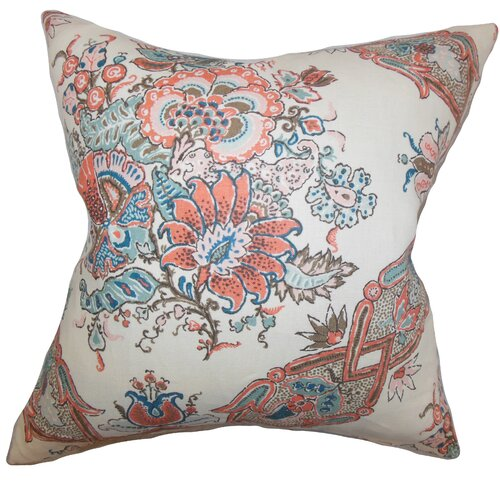 Laelia Floral Pillow