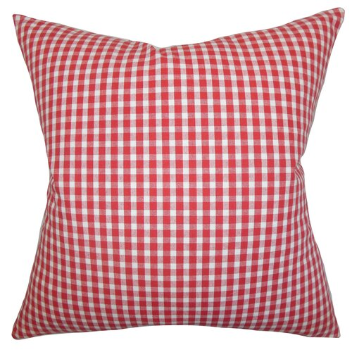 Jhode Plaid Pillow