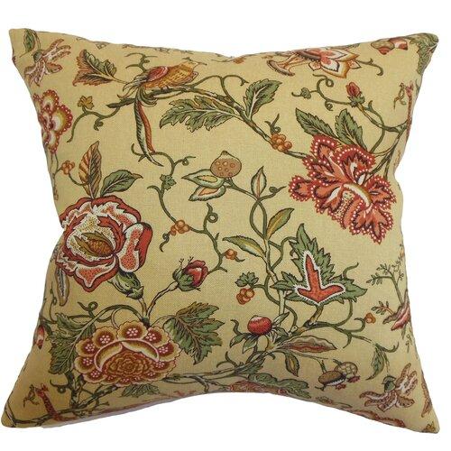 Rewa Floral Cotton Pillow