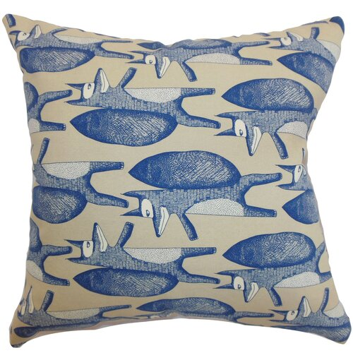 Babolsar Slugs Cotton Pillow