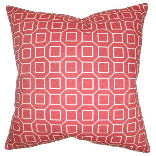 Zacheus Shapes Cotton Pillow