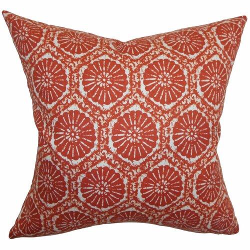 Cniva Floral Cotton Pillow