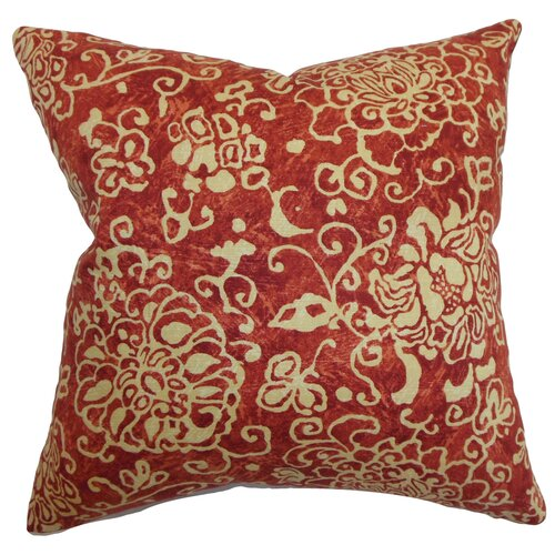 Jaffna Floral Cotton Pillow