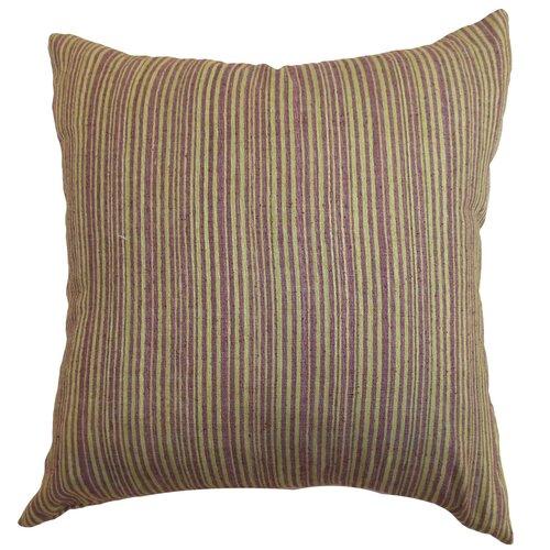 Mace Stripes Raw Silk Pillow