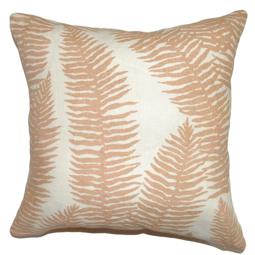 Udele Leaf Cotton Pillow