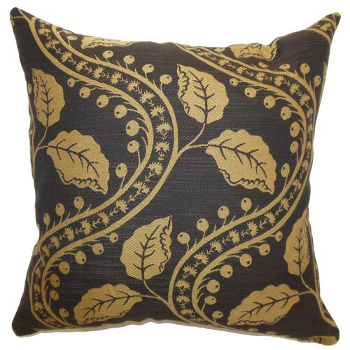 The Pillow Collection Uzma Floral Cotton Pillow