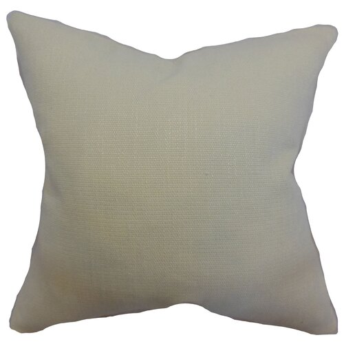 The Pillow Collection Dajana Plain Cotton Pillow