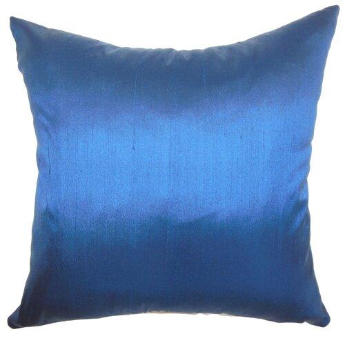 The Pillow Collection Fanceen Plain Silk Pillow
