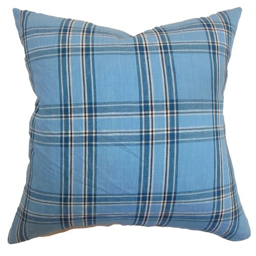 Caravelas Plaid Pillow