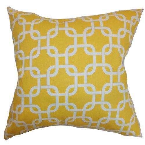 Qishn Geometric Cotton Pillow