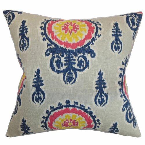 Oenpelli Floral Cotton Pillow
