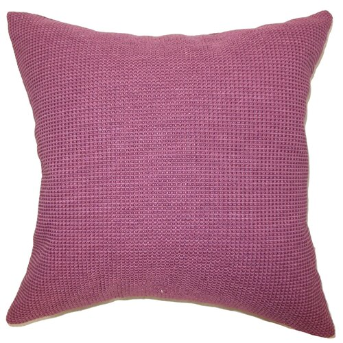 The Pillow Collection Gumamela Cotton / Polyester Pillow