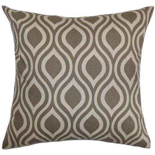 Poplar Geometric Pillow