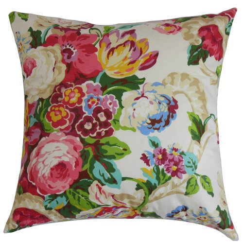 Khorsed Floral Pillow