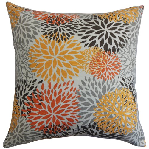 California Floral Pillow