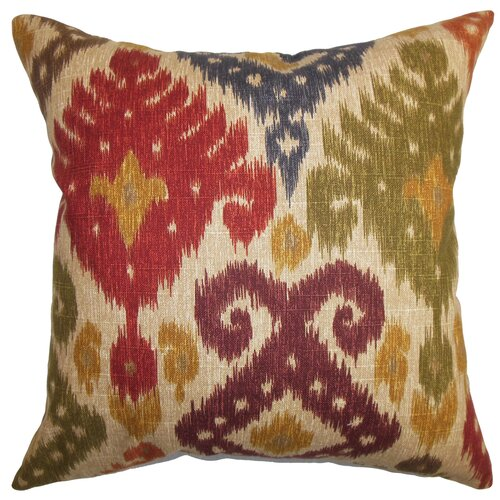 The Pillow Collection Kaula Ikat Pillow