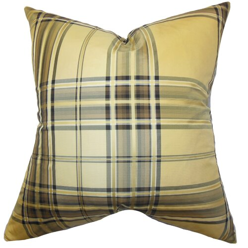 Fiorella Plaid Pillow