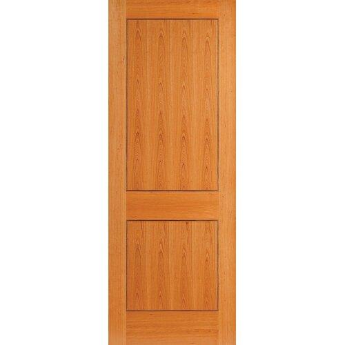 Oak 2 panel interior door wayfair uk for Interior panel doors