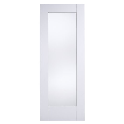 Shaker Single Panel Glazed Interior Door Wayfair Uk