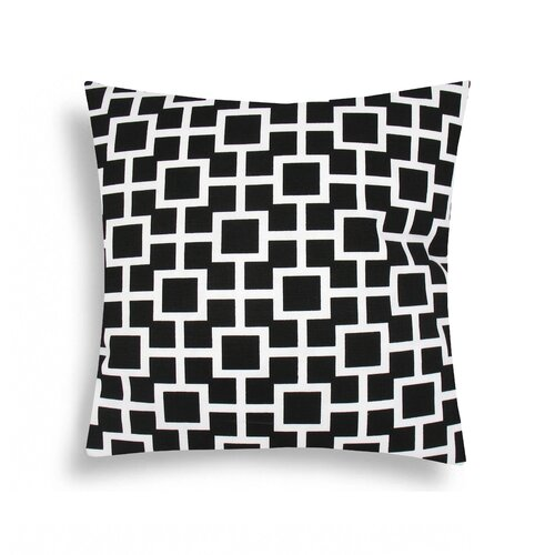 Domusworks Lattice Cotton Decorative Pillow