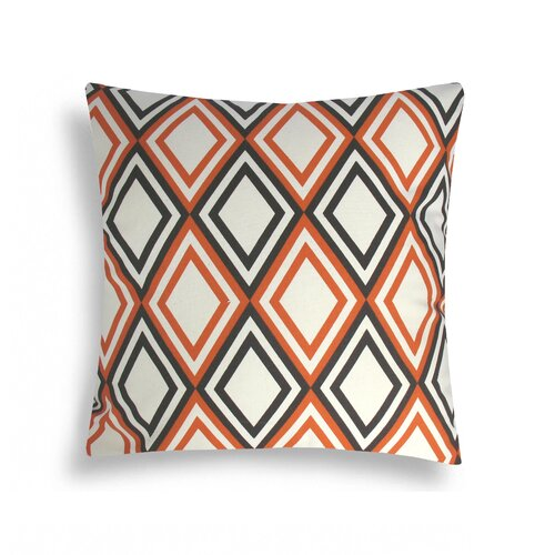 Domusworks Diamond Cotton Decorative Pillow