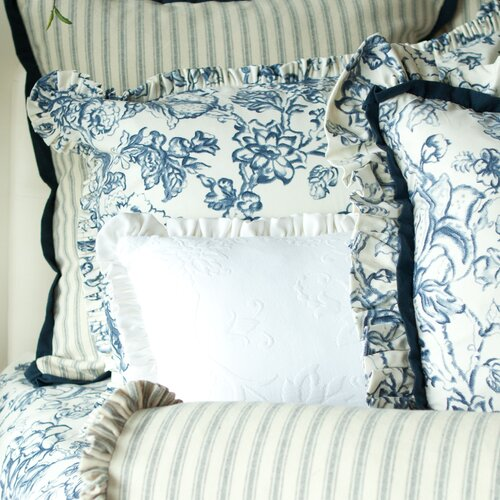 Provence Home Collection Hampton Classic Printed Euro Sham