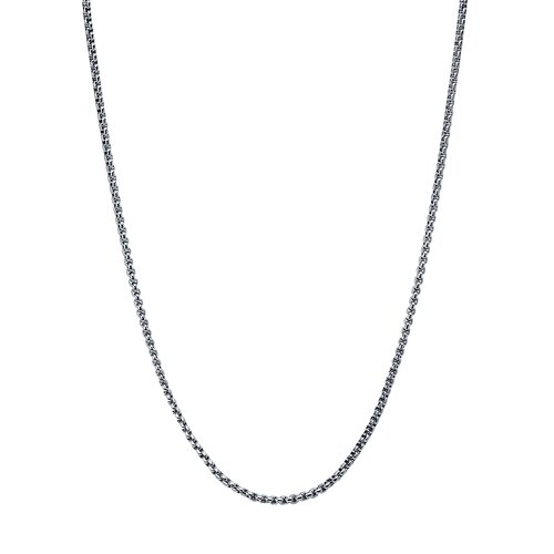 Stainless Steel Rolo Chain Necklace