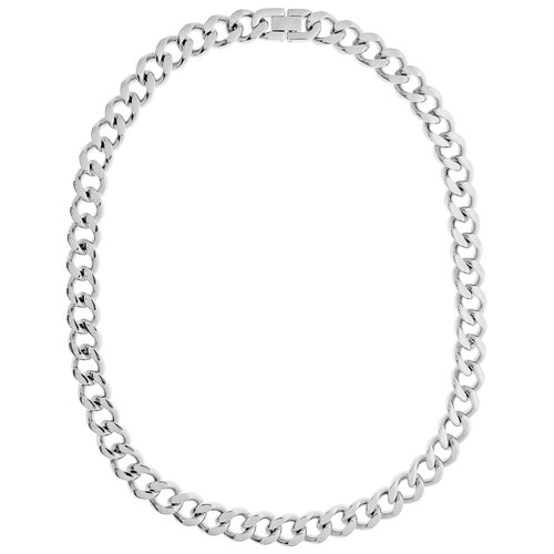 GoldnRox Stainless Steel Curb Chain Necklace