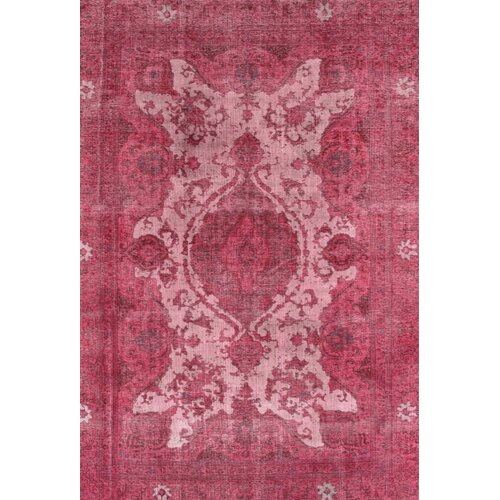 Nuloom Remade Distressed Overdyed Turquoise Area Rug: NuLOOM Remade Distressed Overdyed Red Area Rug & Reviews