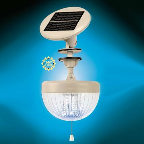 GamaSonic Crown Solar Shed Light