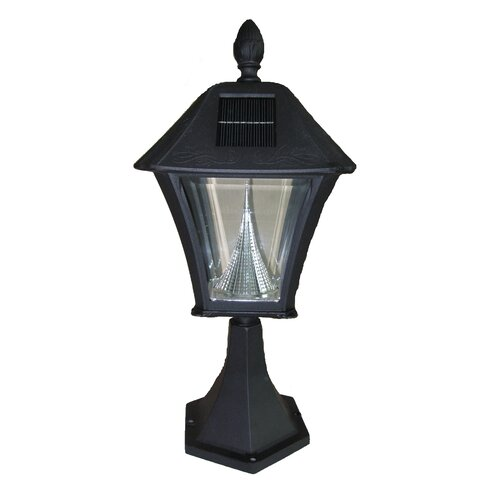 GamaSonic Baytown 5 Light Solar Post Lantern