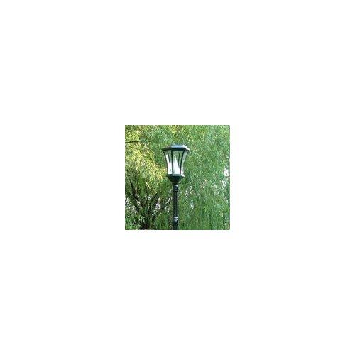 Gama Sonic Victorian Solar Lamp Post and Nine-LED Lantern