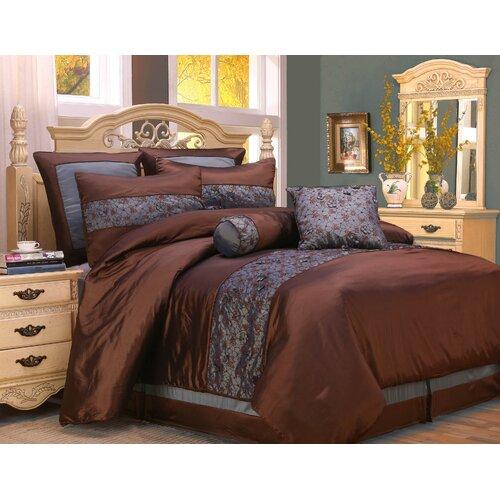 Home Fashions International Fritzi 8 Piece Comforter Set