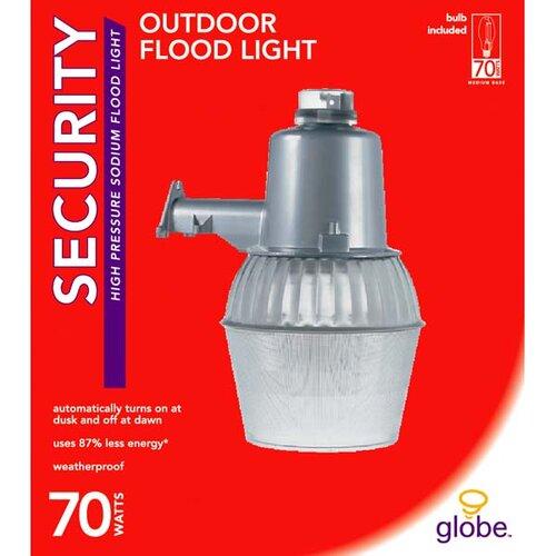 Globe Electric Company 1 Light Outdoor Flood Light