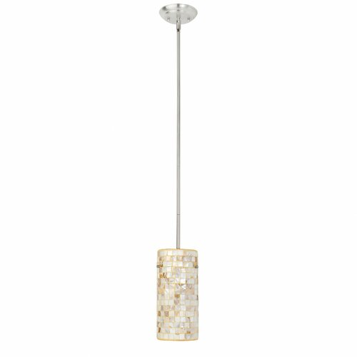Mother of Pearl 1 Light Pendant