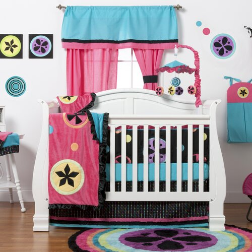 Magical Michayla 6 Piece Crib Bedding Set