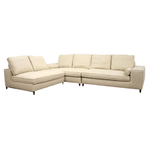Wholesale Interiors Chomp Twill Sectional