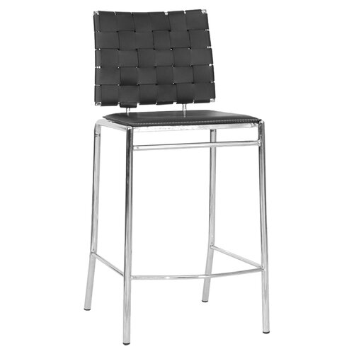 "Wholesale Interiors Baxton Studio Vittoria Modern 26"" Counter Stool"