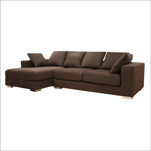 Baxton Studio Florence Twill Sectional