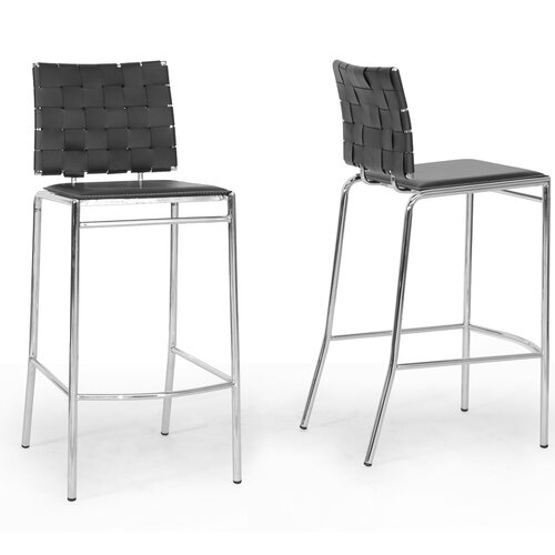 "Wholesale Interiors Baxton Studio Vittoria Modern 29.88"" Bar Stool"