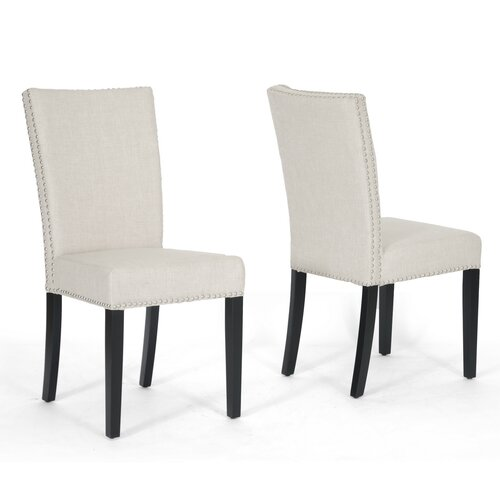 Wholesale Interiors Baxton Studio Harrowgate Parsons Chair (Set of 2)