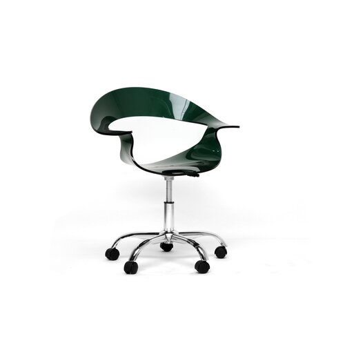Baxton Studio Elia Swivel Desk Chair