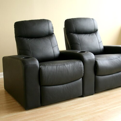 Wholesale Interiors Angus Home Theater Recliner (Row of 2)